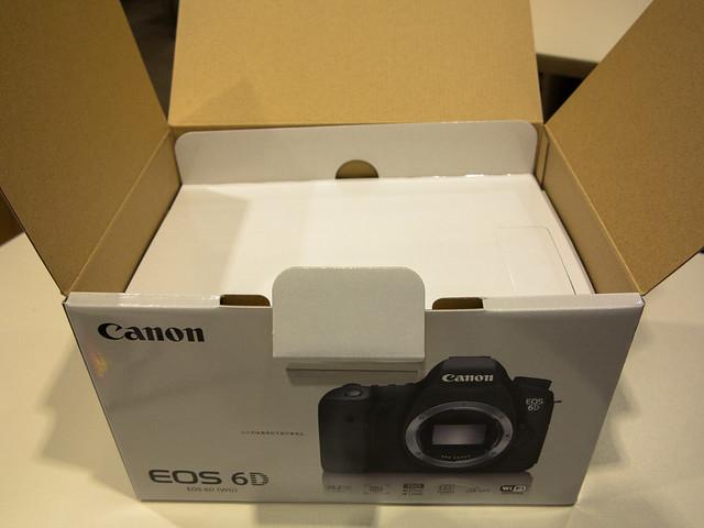 Canon EOS 6D UnboxIng
