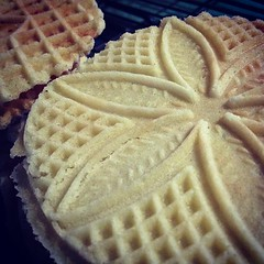First Pizzelles of the season