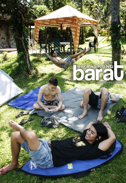 Camping in Real Quezon, Tignoan Beach