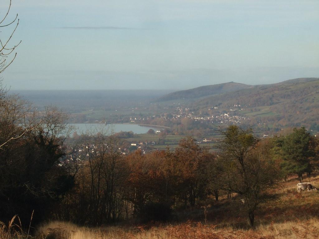 The Mendip Ridge.