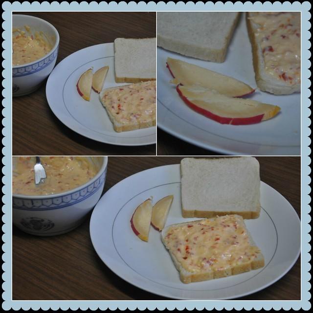 QdB (Queso de Bola) Pimiento Sandwich