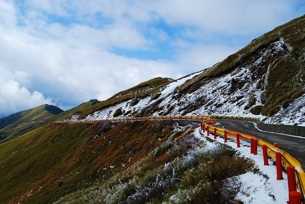 合歡山 太魯閣國家公園TAROKO National Park  snow scene