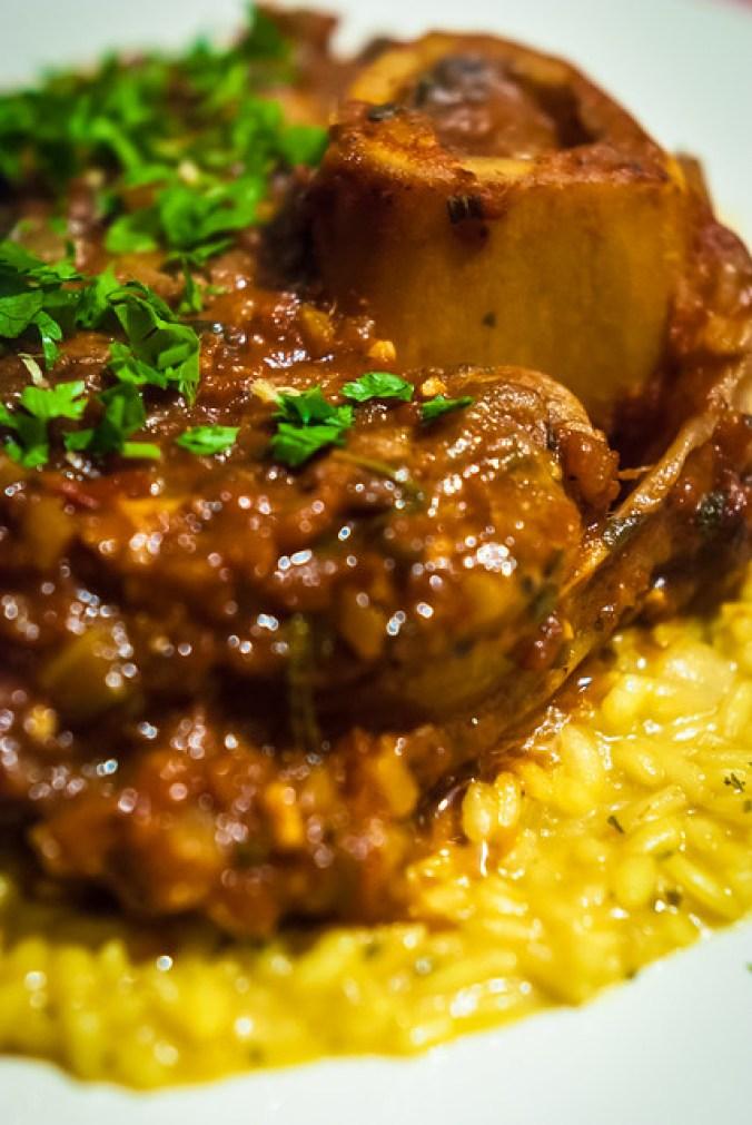 Osso buco alla Milanese e risotto allo zafferano - Wat aten zij?