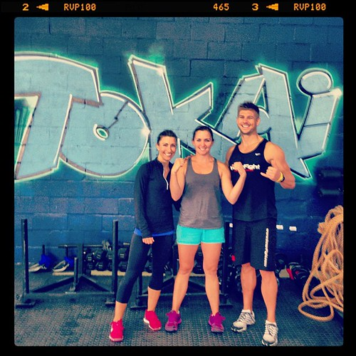 Awesome workout with Gina from #crossfit Tokai! Boom #workout #fitness #fun