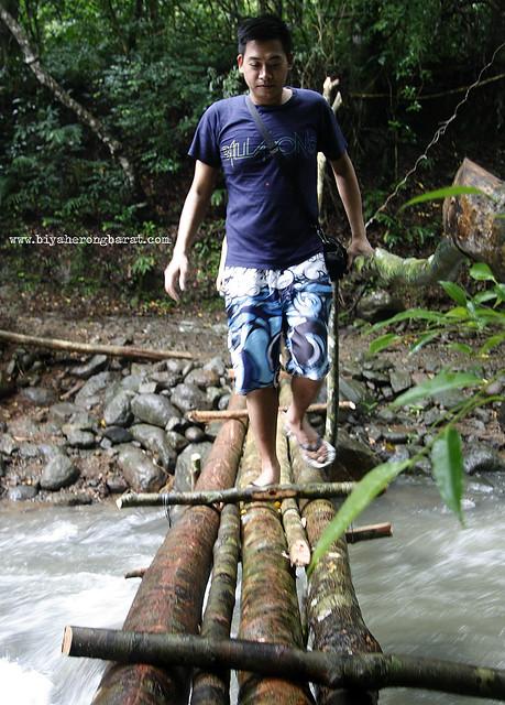 Bridges to Kabigan Falls Pagudpud Ilocos Norte