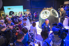 Soyuz unveiling at Space Expo in Noordwijk