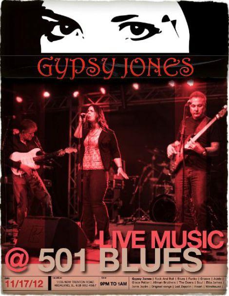 Gypsy Jones 11-17-12