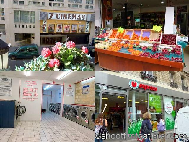 Lenox Montparnasse - restaurants & shops on Rue Delambre