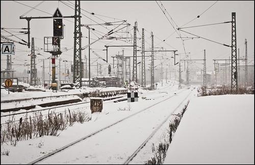 Gewirr im Schnee/Gleis 2