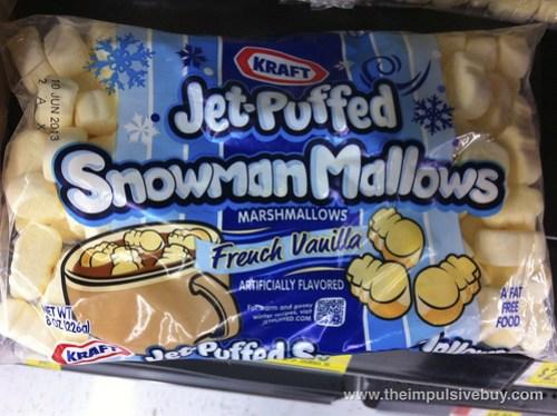 Jet-Puffed SnowmanMallows French Vanilla