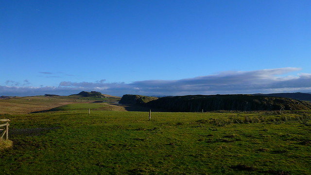 Hadrians Wall, Steel Rigg, Peel Crags