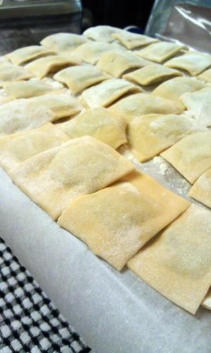 Handmade ravioli! by pipsyq