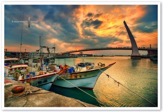 Tamsui, Tamsui Fisherman's Wharf, Taiwan (淡水,漁人碼頭 )