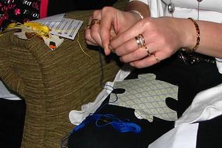 stitchin hands