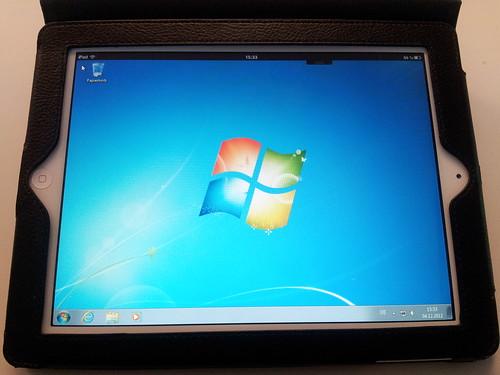 Windows 7 auf dem iPad über VMWare