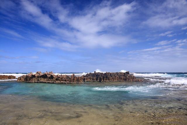 One of many Rock pools around Quobba