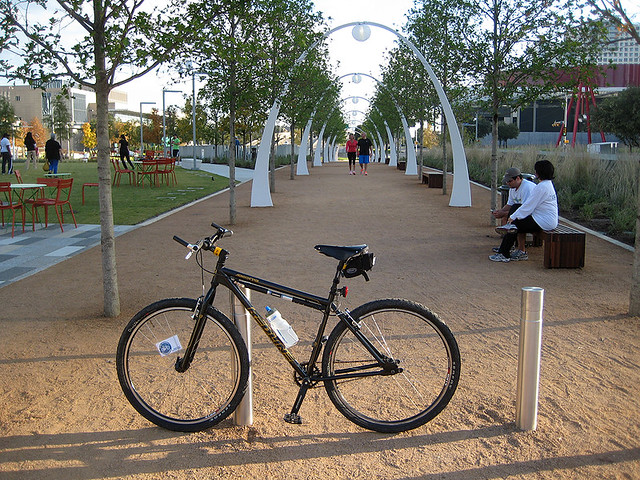 Arches At Klyde Warren Park