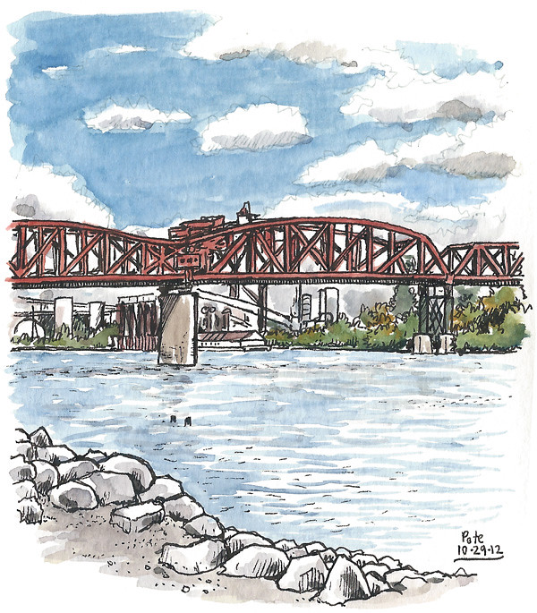 pdx broadway bridge