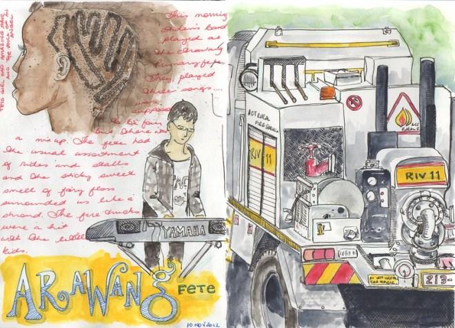 43-2012 // Fetes and firetrucks
