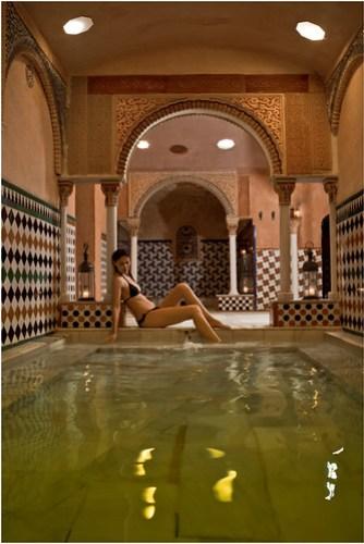 Sala Caliente de Hammam Al Ándalus Granada