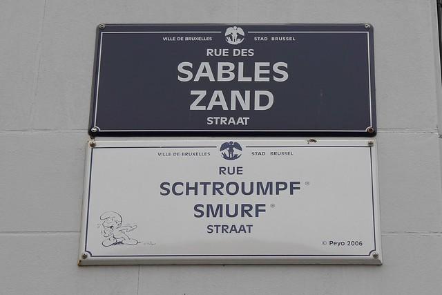 Rue Schtroumpf