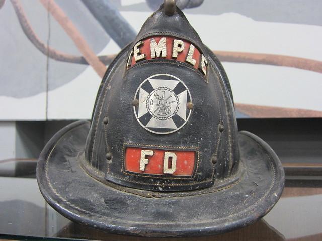 Antique Fire Helmet