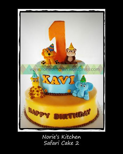 Norie's Kitchen - Safari Cake 2 by Norie's Kitchen