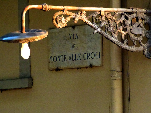 Florence - jour 3 - 085 - Via del Monte alle Croci