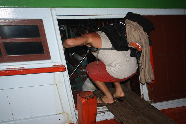 Entering the Night Boat to Koh Tao