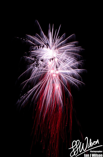 Bleeding Fireworks – Daily Photo (27th November 2012)