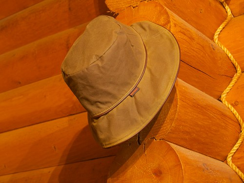Barbour Waxed Cotton Hat
