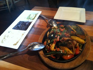 Veggie Fajitas from Mago Cantina and Grill