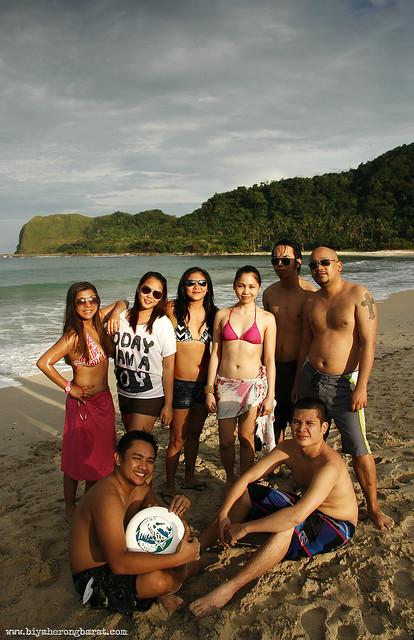 Blue Lagoon beach in Pagudpud Ilocos Norte