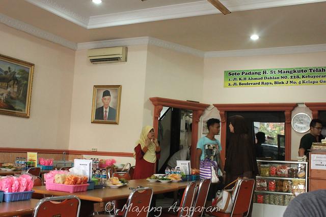 The restaurant at Pasar Baru, Jakarta