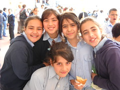 Nazareth schoolgirls