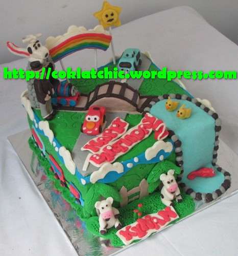 Cake Thomas, Cars dan Tayo the little bus