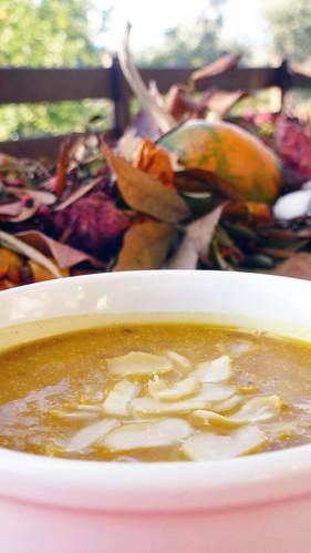 Pumpkin & orange soup - Vellutata di zucca & arancia