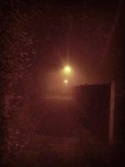 Fog over West Woodside