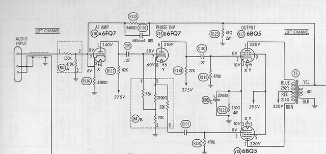 What is this 6-lead things on RCA RS-177J Amp