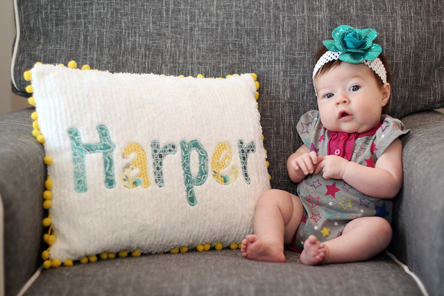 Harper at 2 months