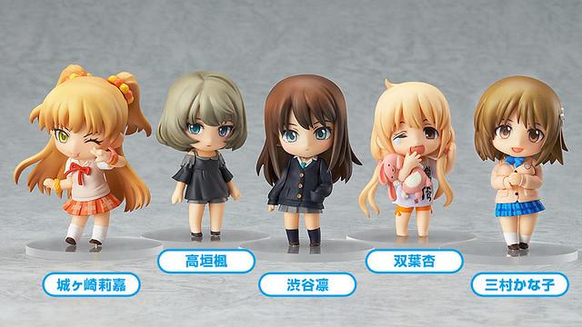 Nendoroid Petite: IDOLM@STER Cinderella Girls - Stage 01