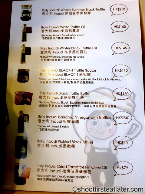 Italy Inaudi truffle Hong Kong price list