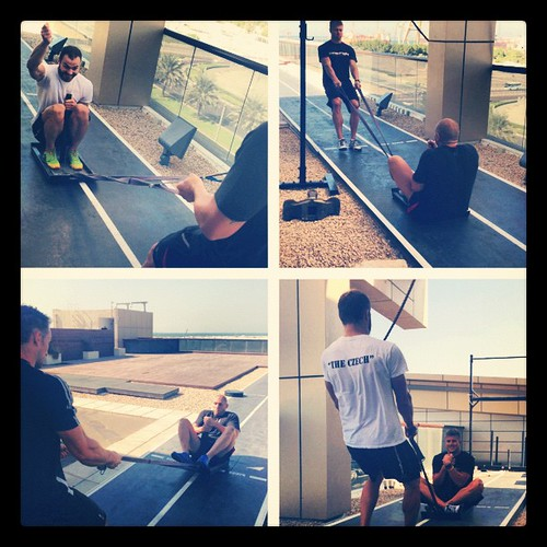 Sled pulls @ #bodyweight literally #training #fun #innerfight