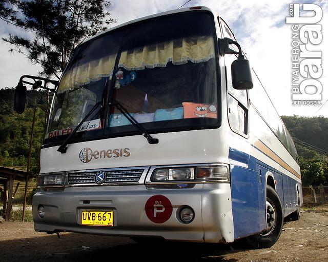 Genesis Bus in Nueva Vizcaya stopover