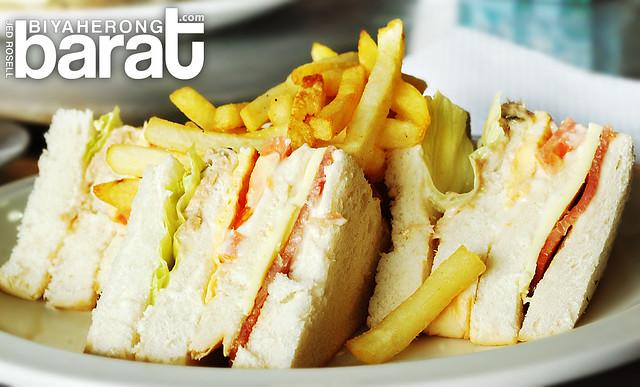Clubhouse sandwich in San Fernando City La Union