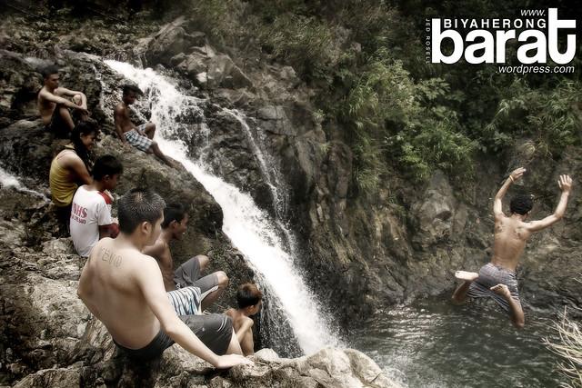 jumping Balagbag Falls real quezon