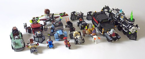 LEGO Monster Fighters: wszystkie zestawy