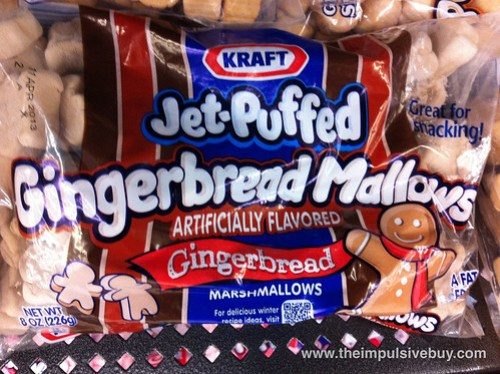 Jet-Puffed GingerbreadMallows