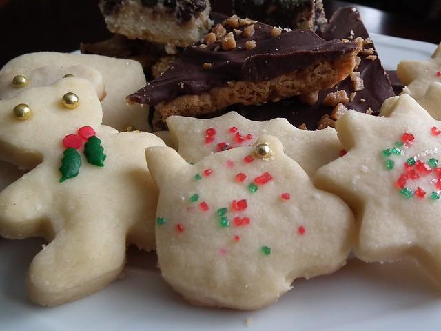 Christmas Shortbread Cookies
