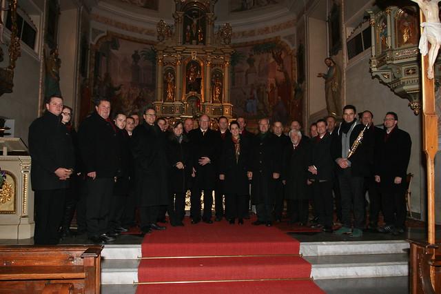 Alle Akteure der drei Adventkonzerte 2012 - MGV Kaning & Kärntner Viergesang